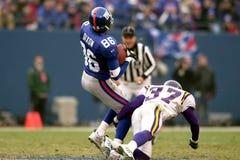 Ron Dixon, New York Giants Στοκ Φωτογραφία
