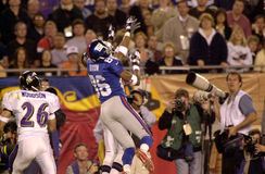 Ron Dixon, Super Bowl XXXV. New York Giants WR Ron Dixon, #86 Royalty Free Stock Images