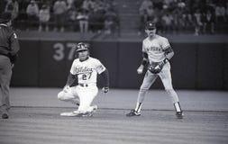 Ron Hassey, Oakland Athletics fotografia de stock royalty free