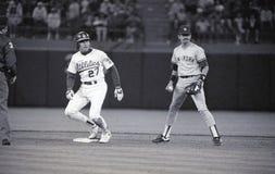 Ron Hassey, Oakland Athletics Images libres de droits