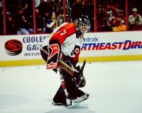 Ron Hextall Philadelphia goalie #27 Royaltyfria Bilder