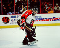 Ron Hextall Philadelphia goalie #27 Royalty Free Stock Images