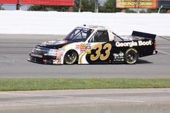 Ron Hornaday 33 Kwalificerende Reeksen ORP van de Vrachtwagen NASCAR Stock Foto