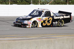 Ron Hornaday 33 Qualifying NASCAR Truck Series ORP Royalty Free Stock Photo