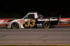 Ron Hornaday Back Straight ORP Truck Series Night Stock Photos
