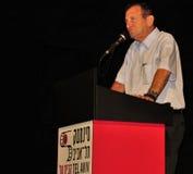 Ron Huldai, burgemeester van Tel Aviv Yafo Royalty-vrije Stock Afbeelding
