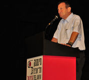Ron Huldai, prefeito de Telavive Yafo Imagem de Stock Royalty Free