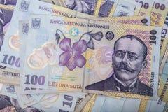 RON/Leu/Money/European Royalty Free Stock Image