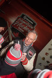 Ron Maclean Signing Autographs Royalty Free Stock Image
