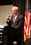 Ron Paul che dà un discorso a Denver Fotografie Stock