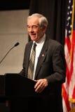 Ron Paul die een toespraak geeft Royalty-vrije Stock Foto