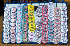 Ron Paul election buttons Stock Photography