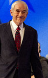 Ron Paul at Republican Presidential Debate 2012 Stock Photos