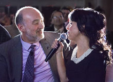 Ron Prosor and Rita Royalty Free Stock Photos