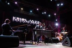 Ron Savage Trio (Berklee College of Music) (USA) Stock Photo