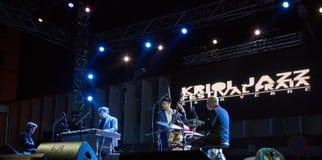 Ron Savage Trio (Berklee College of Music) (USA) Stock Photos