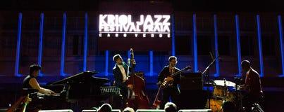 Ron Savage Trio (Berklee College of Music) USA Royalty Free Stock Images