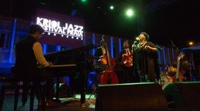 Ron Savage Trio (Berklee College of Music) USA Royalty Free Stock Photo