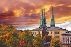 Free Rona Church In Sunrise, Helsinki, Finland Royalty Free Stock Photo - 161641195