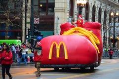 Ronald McDonald®, τιμητικό μεγάλο Marshal στοκ εικόνες