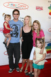 Ronald McDonald,Peter Facinelli,Jennie Garth,Jenny Garth Stock Photography