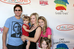 Ronald McDonald,Peter Facinelli,Jenny Garth,Jennie Garth Royalty Free Stock Image
