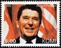 Ronald Reagan Στοκ Εικόνα