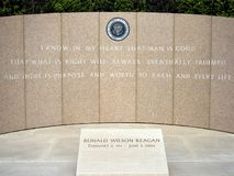 Ronald Reagan pamiątkowy zdjęcia royalty free