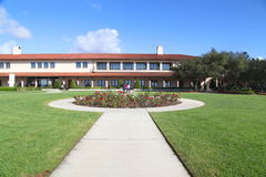 Ronald Reagan presidential library. Landscape, Simi Valley, CA 11/18/2012 Royalty Free Stock Photo