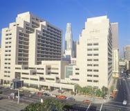 Ronald Reagan State Office byggnad i i stadens centrum Los Angeles, Kalifornien Fotografering för Bildbyråer