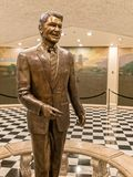 Ronald Reagan statue, California State Capitol Royalty Free Stock Photos