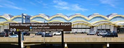 Ronald Reagan Washington National Airport Stock Image