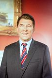 Ronald Reagan Wax Figure. Ronald Wilson Reagan was an American actor and politician. He was the 40th President of the United States, and served as the 33rd Royalty Free Stock Photos