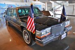 Ronald Reagan's Limousine Stock Images