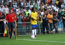 Ronaldinho Imagem de Stock Royalty Free