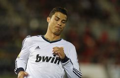Ronaldo 051 Zdjęcia Royalty Free