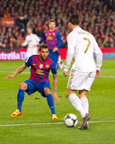 Ronaldo in action Royalty Free Stock Photography