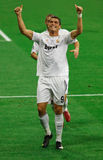 Ronaldo Goal Celebration Royalty Free Stock Images