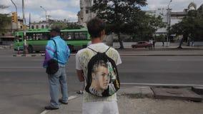 Ronaldo in Havana stock footage