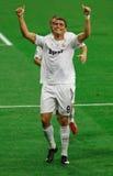 Ronaldo Ziel-Feier Lizenzfreie Stockbilder