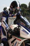 Ronan Quarnby Triumph Daytona 675 Suriano Stock Photos
