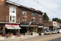 Roncesvalles avenue Stock Photos