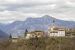 In Ronchi-Tal in Italien Lizenzfreies Stockfoto