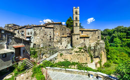 Ronciglione -  medieval town in Viterbo provice Royalty Free Stock Photography