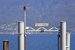 Ronco sopra Ascona Royalty Free Stock Images