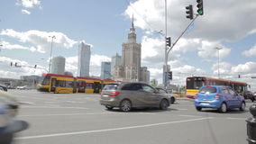 Rondò di Varsavia stock footage