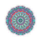 Rond abstract ornament Stock Afbeelding