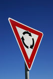 Rond au sujet du signe Image libre de droits