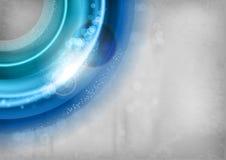 Rond bleu illustration de vecteur