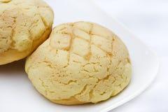 Rond brood Stock Afbeelding